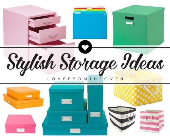 Pretty Storage Containers