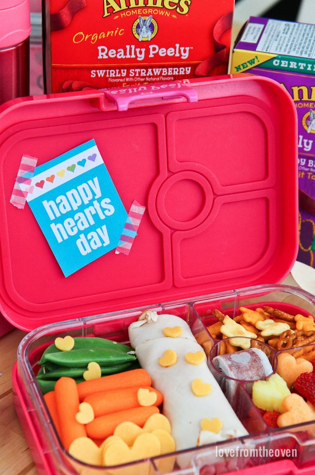Easy Valentine Lunch For Kids #ChooseGood