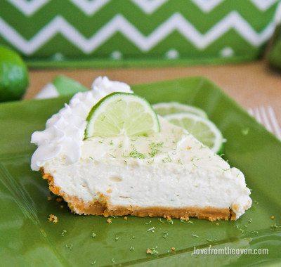 Margarita Cheesecake Pie