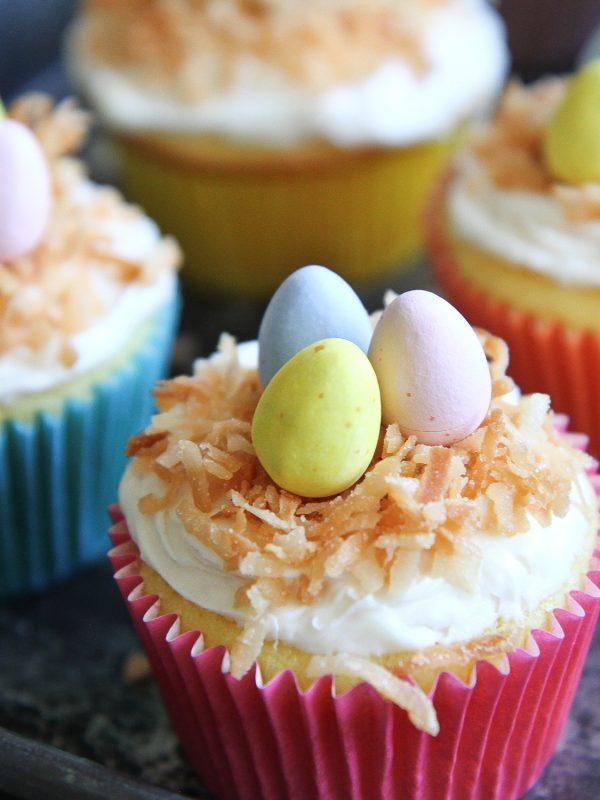 Easy Coconut Cupcakes