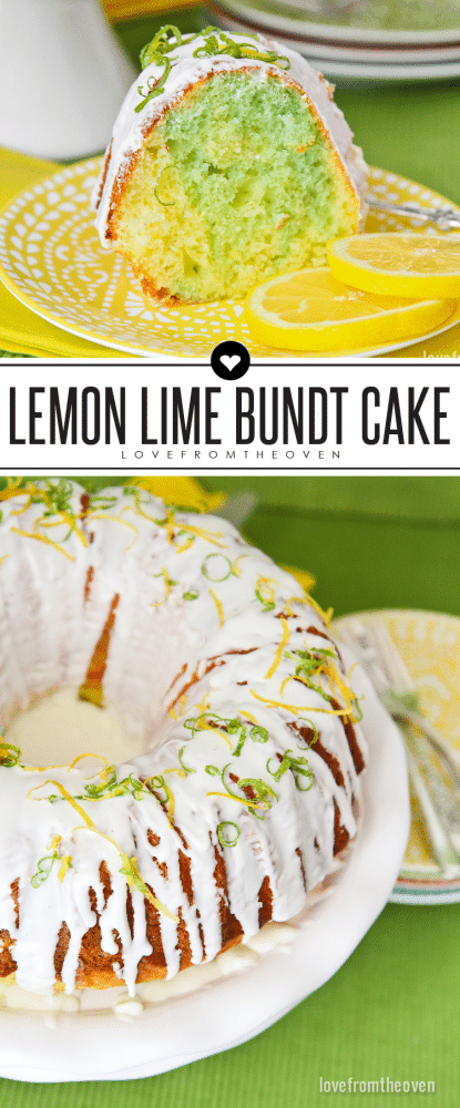 Lemon Lime Bundt Cake