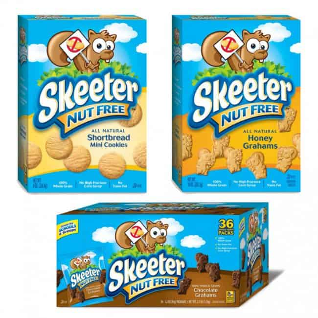 Skeeter Nut Free Cookies