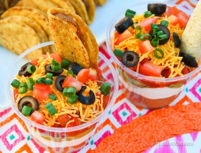 Seven Layer Dip Ideas