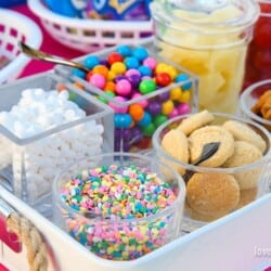 DIY Ice Cream Sundae Bar