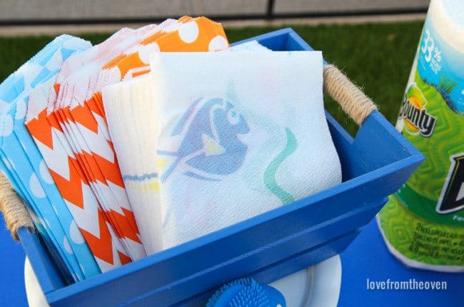 Finding Dory Bounty Paper Towels And Napkins