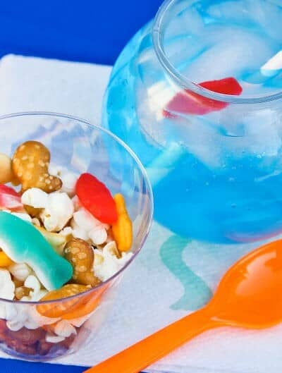 Finding Dory DIY Snack Mix
