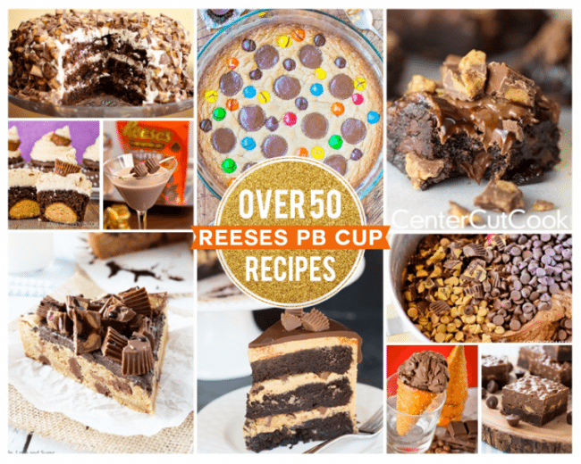 Chocolate and peanut butter cup recipes