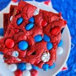Red, White And Blue Red Velvet Bars