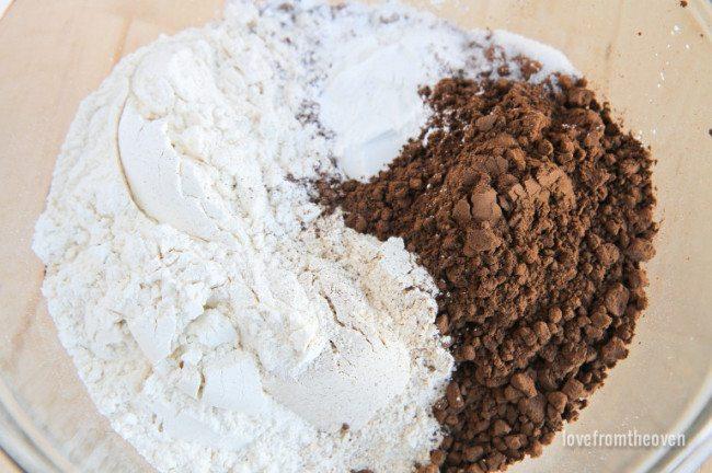 Whole Wheat Chocolate Muffins