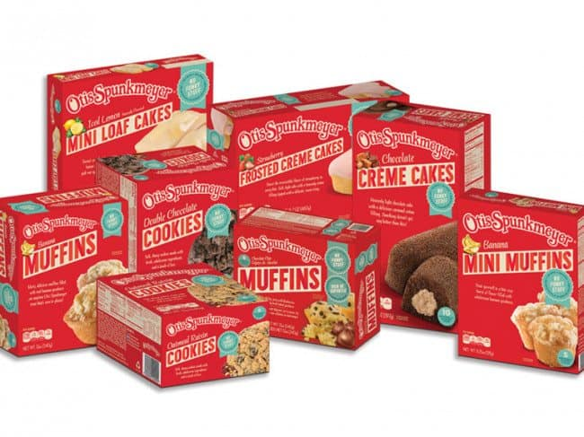 Otis Spunkmeyer Products