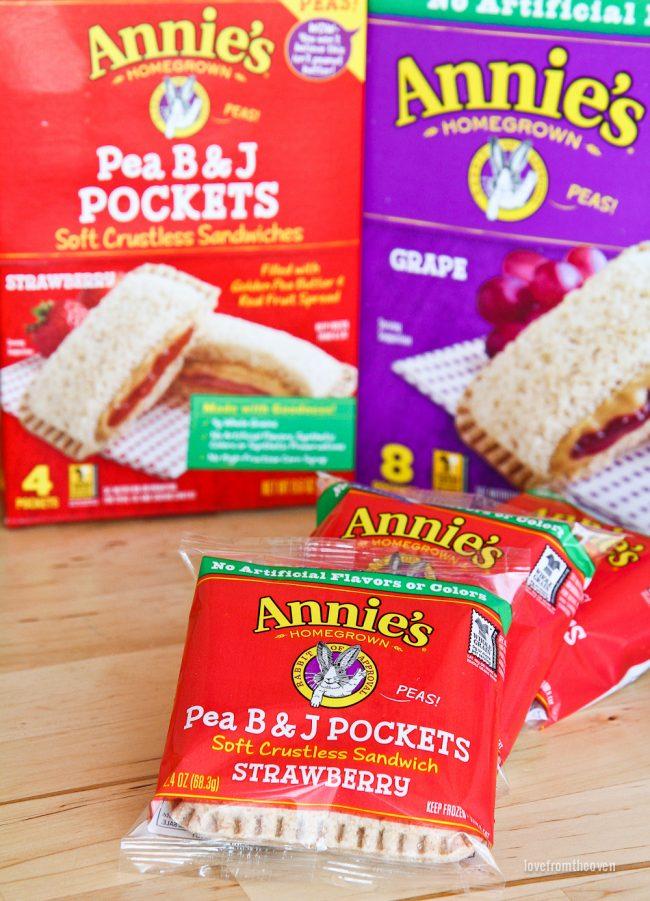 Annie's Pea B&J