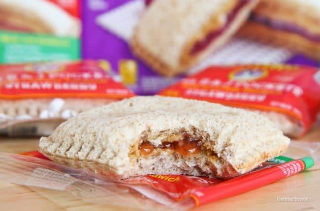 Annie's Pea B&J Sandwiches