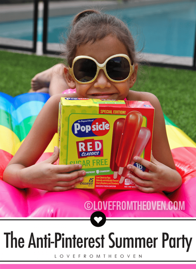 How to throw a party that might not be Pinterest worthy, but your kids (and you) will love!