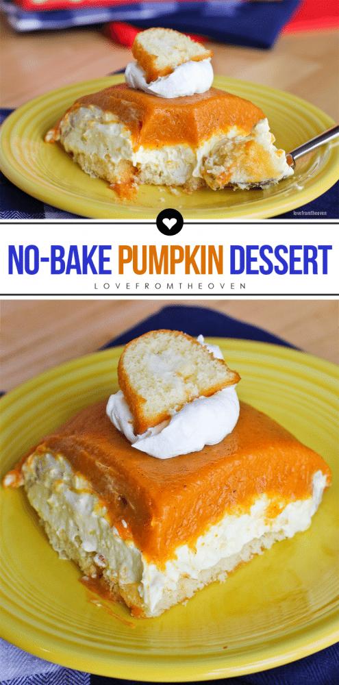 Easy No-Bake Pumpkin Dessert Recipe