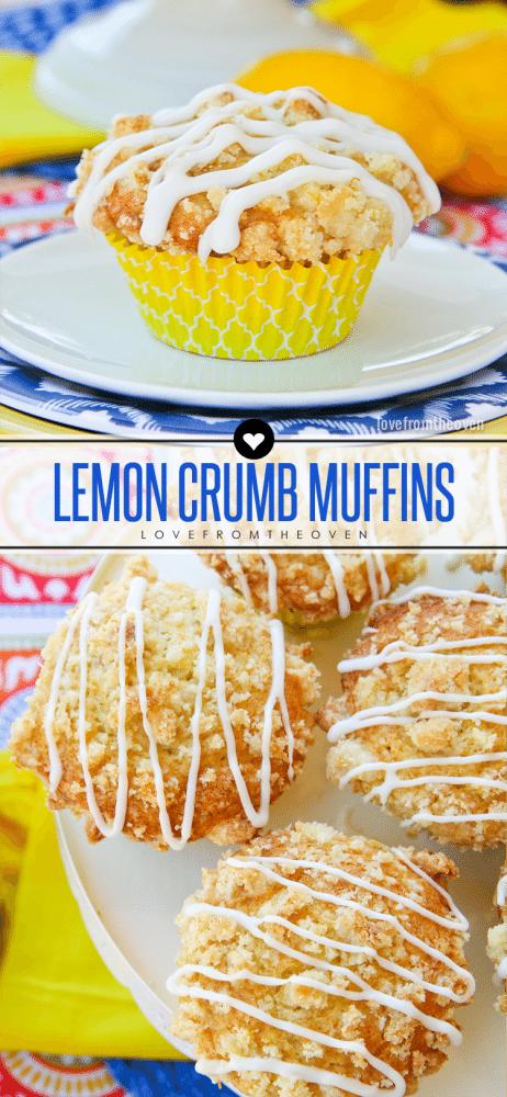 Lemon Crumb Muffin Recipe