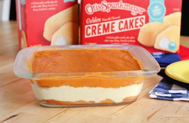 No Bake Pumpkin Cake Recipe