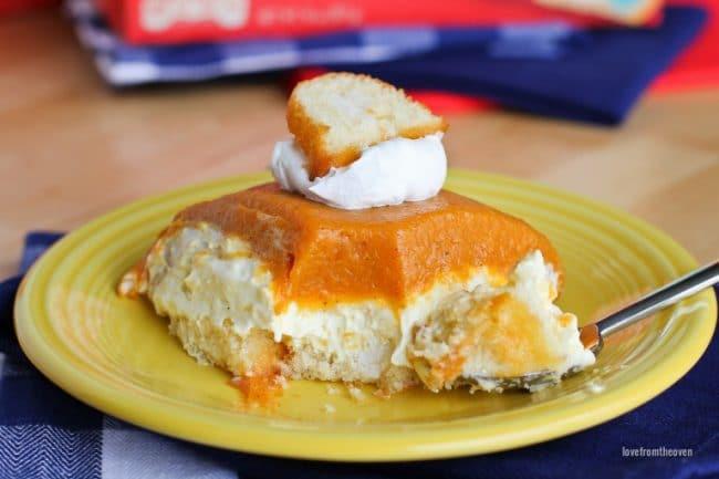 No-Bake Pumpkin Cake