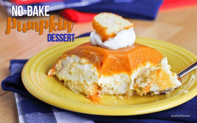 No-Bake Pumpkin Dessert Recipe