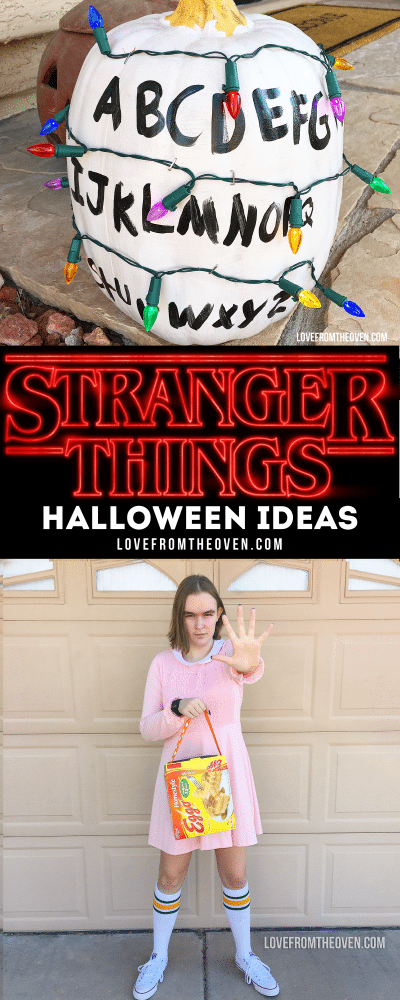 Stranger Things Halloween Ideas