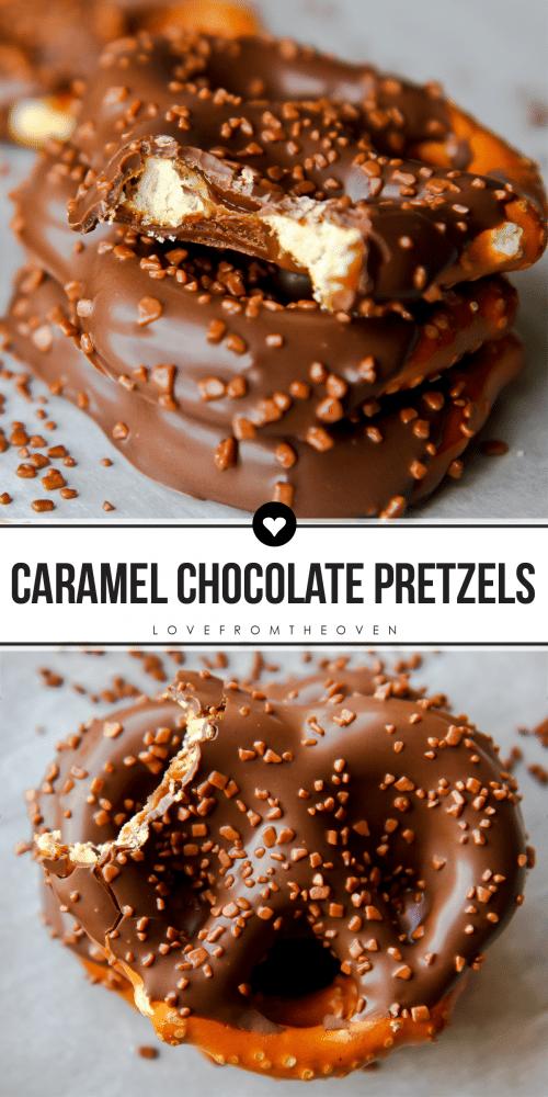 How To Make Caramel Chocolate Pretzels