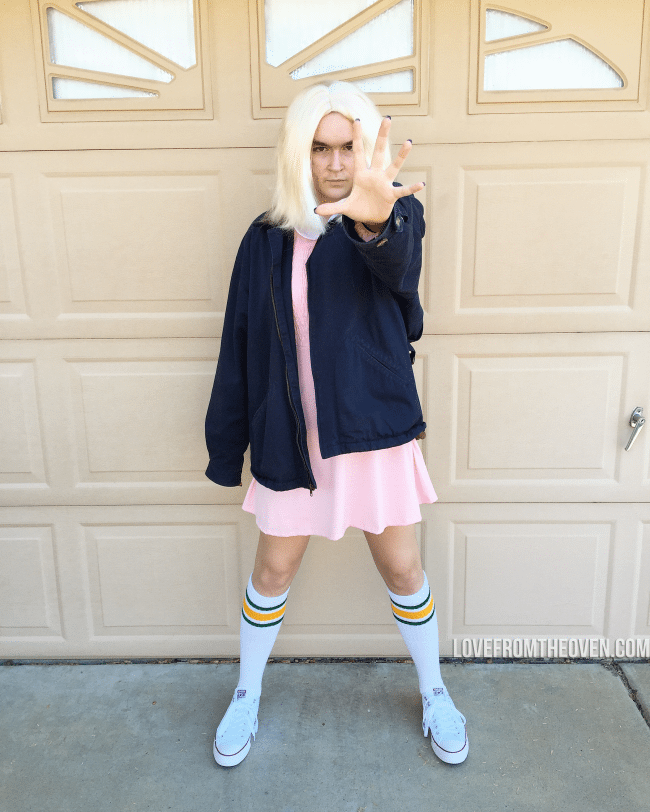 Stranger Things 11 Costume
