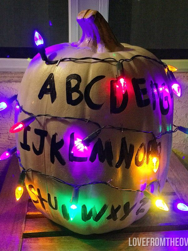 Stranger Things Pumpkin And Halloween Ideas