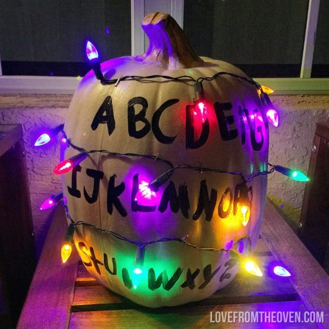 Stranger Things Pumpkin