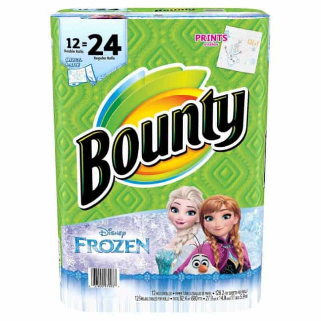 Bounty Prints Featuring Disney Frozen