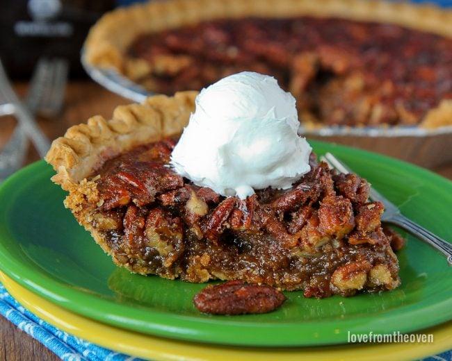 Agave Pecan Pie