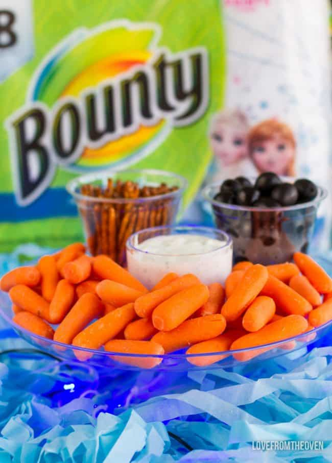 Frozen Olaf Snacks