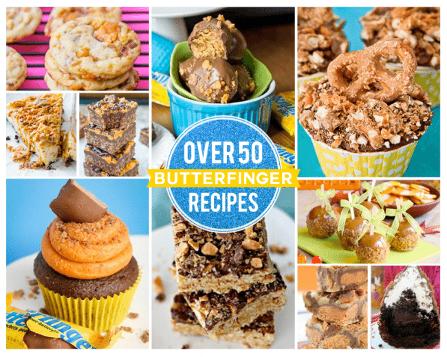 Recipes Using Butterfingers