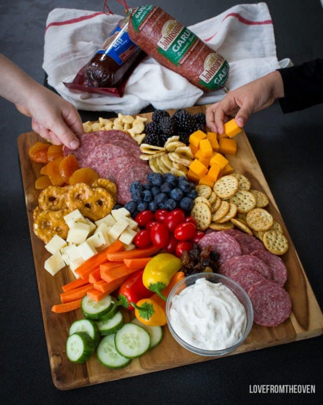Kid Friendly Charcuterie
