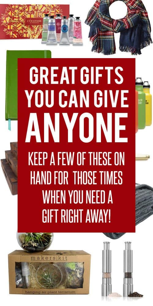 Great gifts you can give anyone