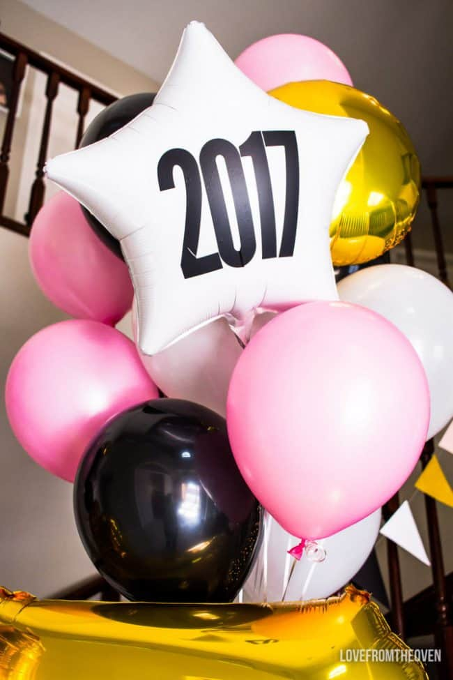 New Year's Eve Decorating Ideas