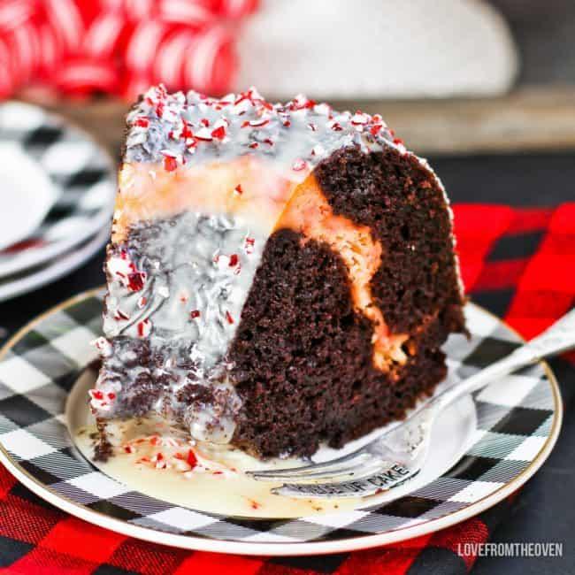 Peppermint Bundt Cake Recipe