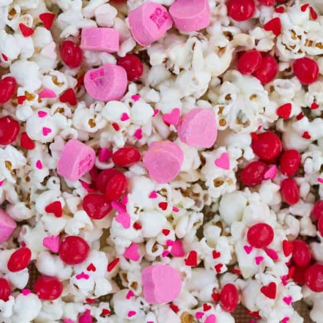 Cinnamon Sweetheart Valentine Popcorn Love From The Oven
