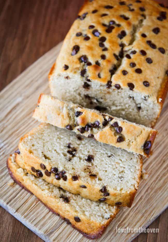 Chocolate Chip Loaf Recipe