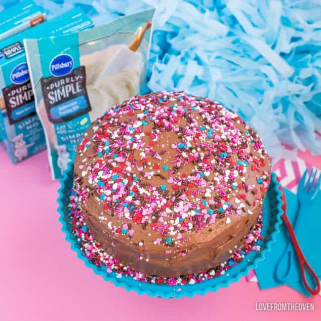 Pillsbury Purely Simple Chocolate Cake And Frosting