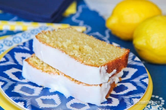 Copycat Starbucks Lemon Pound Cake Recipe