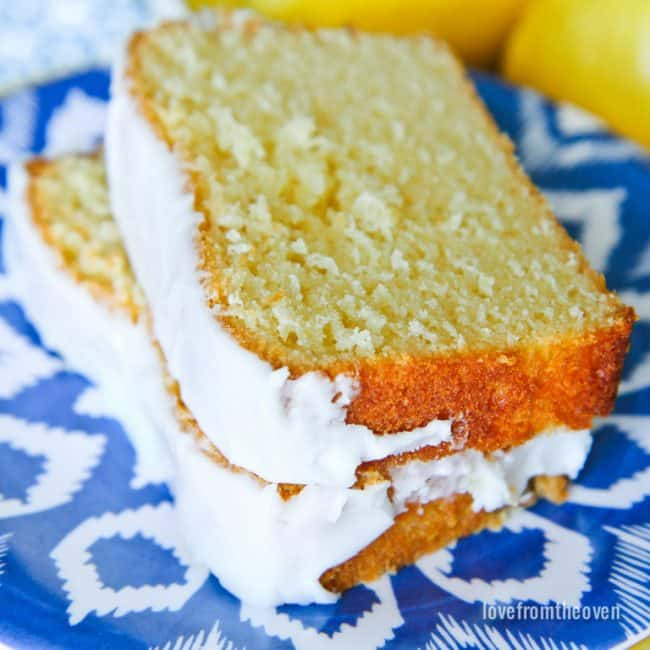 Starbucks Lemon Pound Cake Copycat Recipe