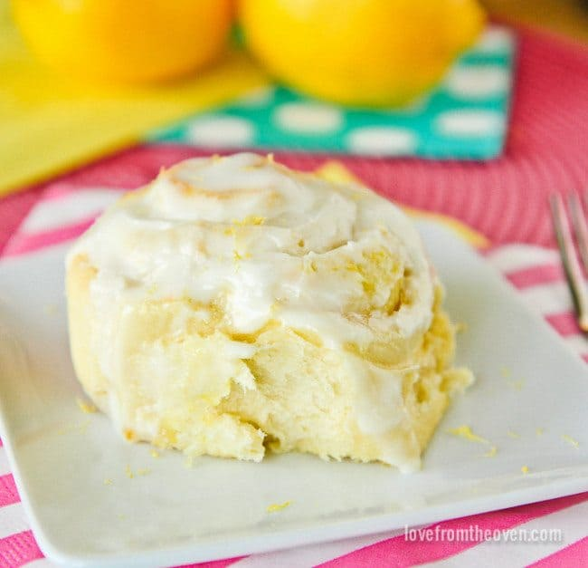 Lemon Rolls Recipe