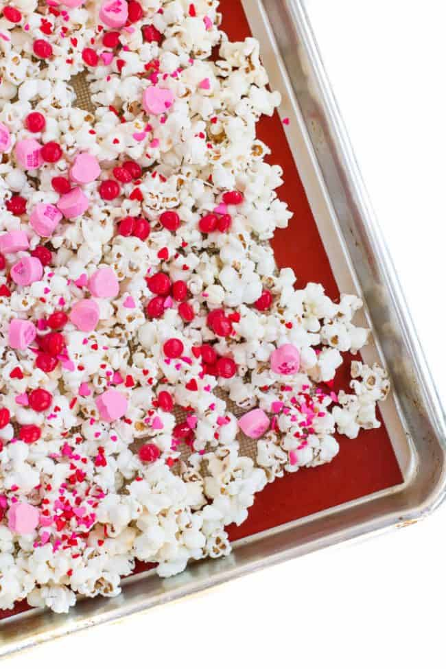 Easy Valentine Popcorn