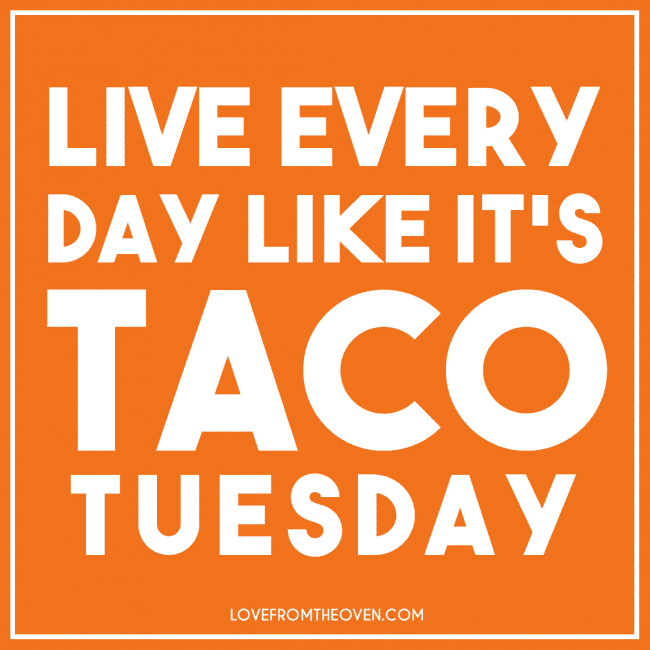 Taco Tuesday! Ole!