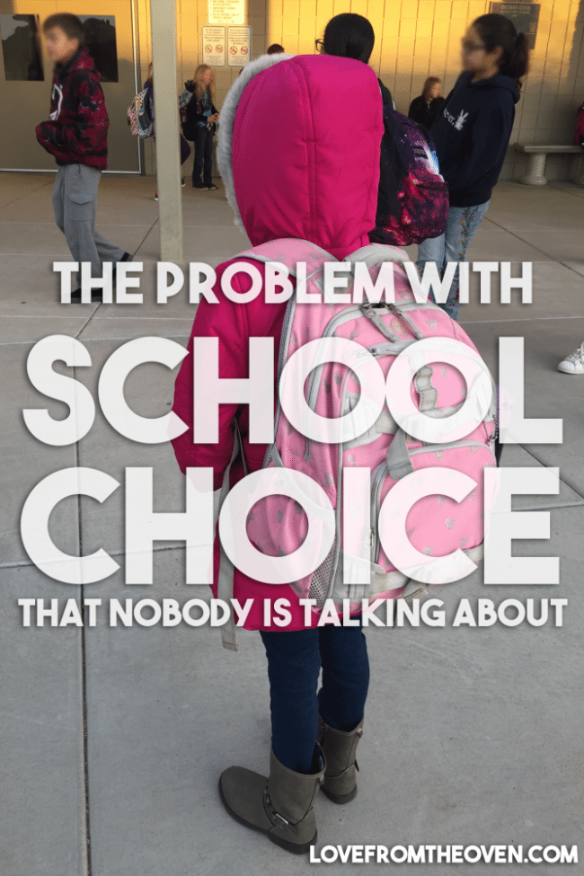 The Problem With School Choice
