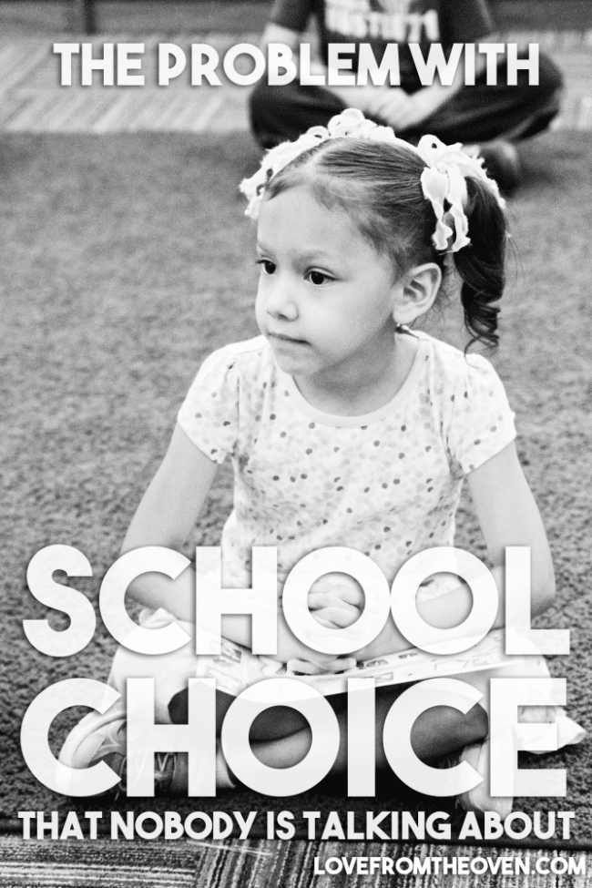 The Problem With School Choice That Nobody Talks About