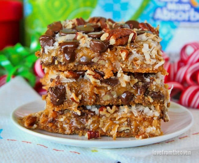 Caramel Magic Cookie Bars