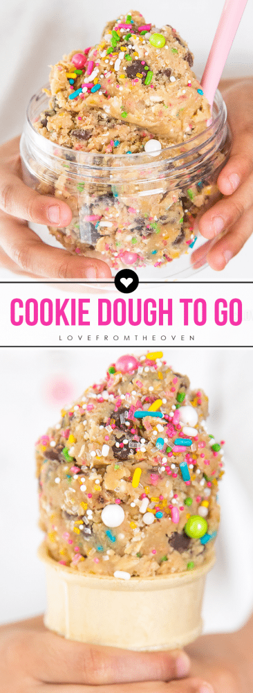 Cookie Dough Cones And To Go Recipes