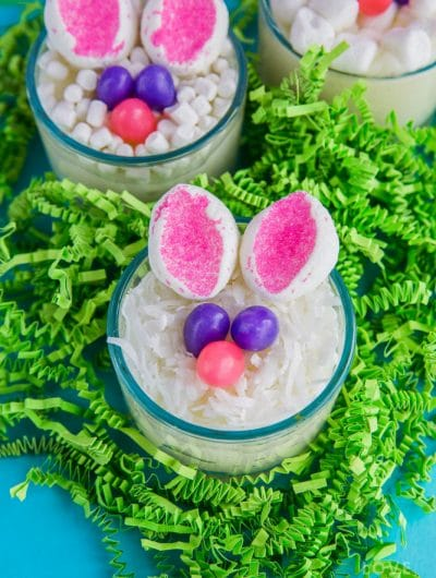 Easy Bunny Pudding Cups