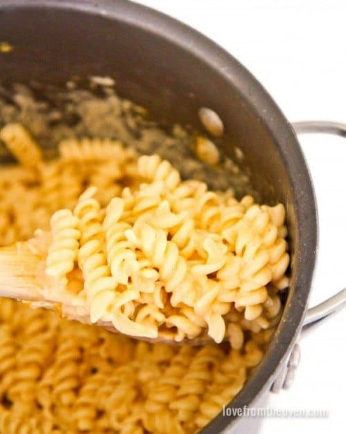 Easy one pot Mac and cheese