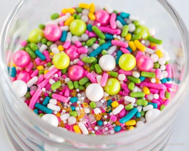 Pretty Sprinkle Mixes